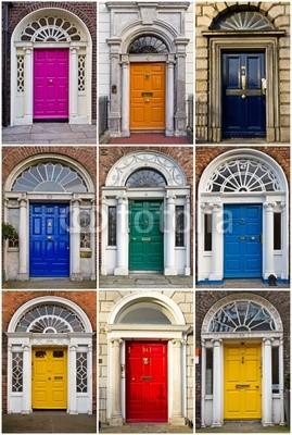 Configurar fotomural viejas puertas georgianas de dubl n n 12007 - Fotomural para puertas ...